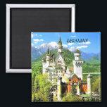 """NEUSCHWANSTEIN CASTLE, GERMANY MAGNET<br><div class=""""desc"""">NEUSCHWANSTEIN CASTLE,  GERMANY</div>"""