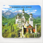 NEUSCHWANSTEIN CASTLE, GERMANY MOUSE PADS