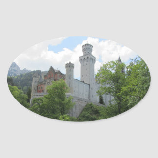 Neuschwanstein Castle - Germany Oval Sticker