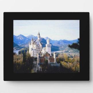 Neuschwanstein Castle Germany Photo Placque Plaque