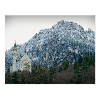 Neuschwanstein Castle - Germany - Postcard