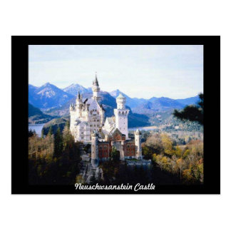 Neuschwanstein Castle Germany Postcard