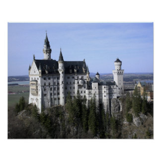 German Castles Posters | Zazzle