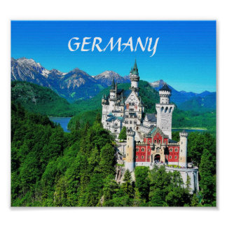 NEUSCHWANSTEIN CASTLE, GERMANY POSTER
