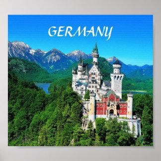 NEUSCHWANSTEIN CASTLE, GERMANY POSTERS