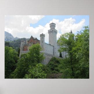 Neuschwanstein Castle - Germany Poster