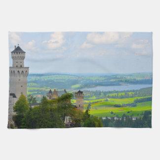 Neuschwanstein Castle in Bavaria Germany Towels