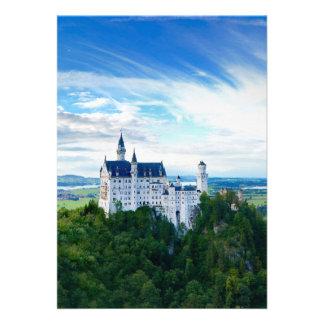 Neuschwanstein Castle Invites