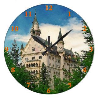 Neuschwanstein  Castle Large Clock