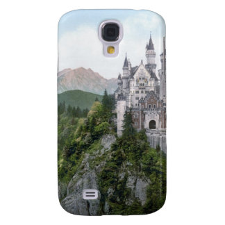 Neuschwanstein Castle Lithograph Galaxy S4 Covers