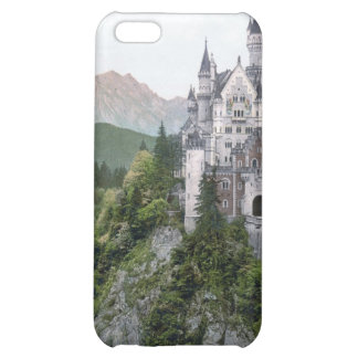 Neuschwanstein Castle Lithograph Case For iPhone 5C