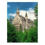 Neuschwanstein castle post card