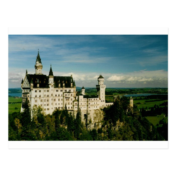 Neuschwanstein Castle Postcard