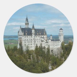 Neuschwanstein Castle - Schloss Neuschwanstein Classic Round Sticker