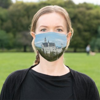 Neuschwanstein Castle - Schloss Neuschwanstein Cloth Face Mask
