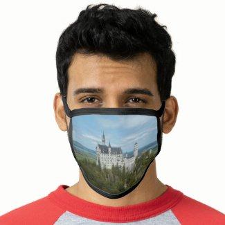 Neuschwanstein Castle - Schloss Neuschwanstein Face Mask