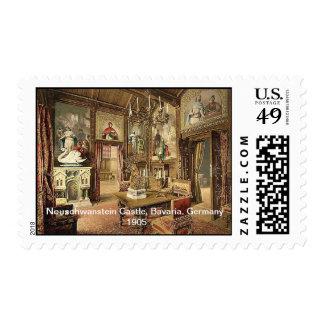 Neuschwanstein Castle, Upper Bavaria, Germany 1905 Postage Stamps