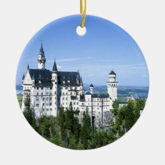 Neuschwanstein Ceramic Ornament