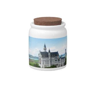 Neuschwanstein panorama candy jar