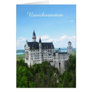 Neuschwanstein panorama card