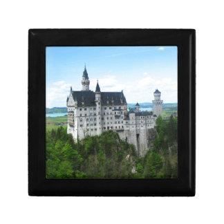 Neuschwanstein panorama keepsake box