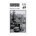 Neuschwanstein Winter Stamp