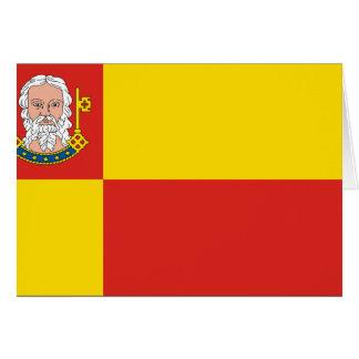 Neustadt-Glewe, Germany flag Greeting Card