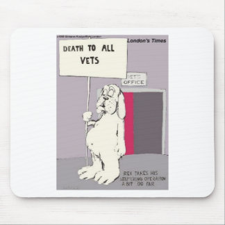Neutered Dog Fights Back Funny Gifts & Tees Mouse Pad