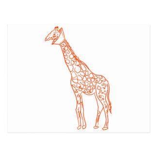 Neutered Giraffe Post Cards