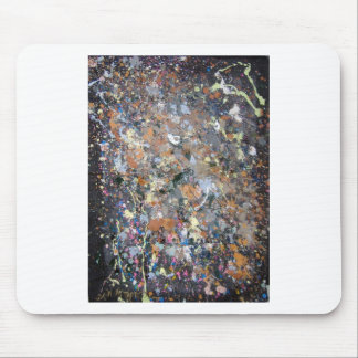 neutral abstract mouse pad