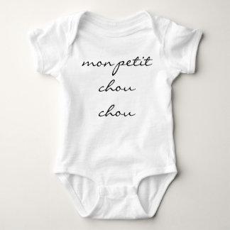 """Neutral Baby Bodysuit """"mon petit chou chou"""""""