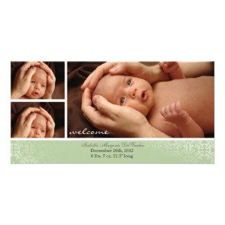 Neutral Baby Photocard Announcement