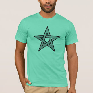 Neutral Color Pentagram T-Shirt