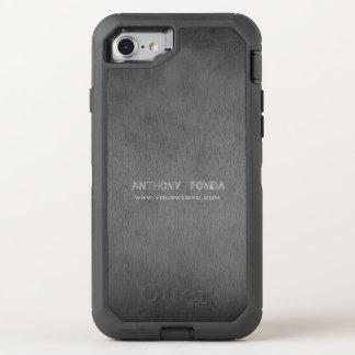 Neutral Color Rustic Cement Concrete Masculine OtterBox Defender iPhone 7 Case