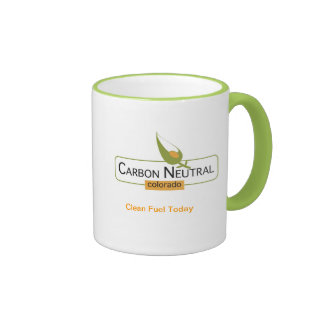 Neutral Colorado del carbono Taza A Dos Colores