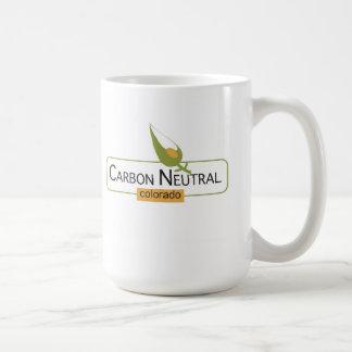 Neutral Colorado del carbono Taza Clásica