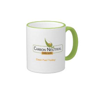 Neutral Colorado del carbono Taza De Dos Colores