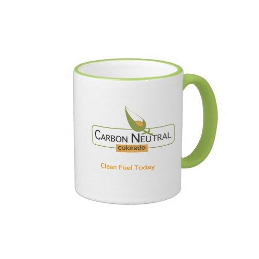Neutral Colorado del carbono Tazas De Café