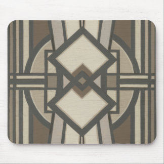 Neutral Deco Panel I Mouse Pad
