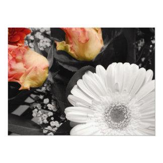 Neutral flower Design Card