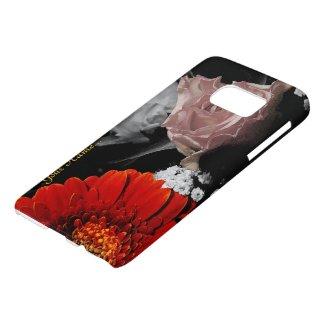 Neutral Flower Design / Neutral Floraldesign Samsung Galaxy S7 Case