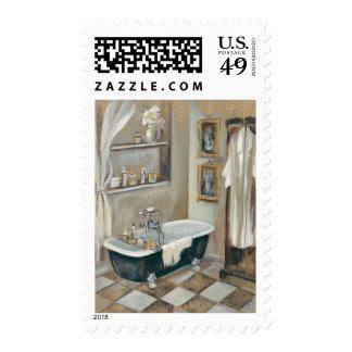 Neutral French Bathroom Postage
