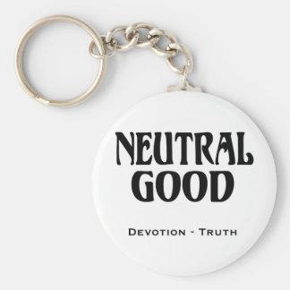"""Neutral Good"" Keychain"