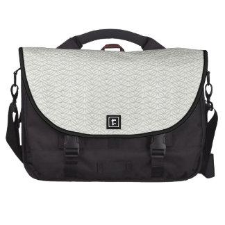 Neutral Organic Leaf Pattern Commuter Bag