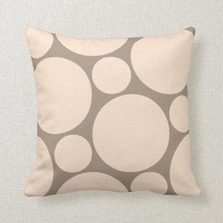 Neutral Polka Dot Pillow