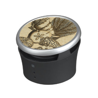 Neutral Shells and Coral Collection Bluetooth Speaker