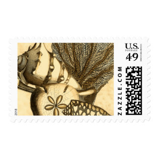 Neutral Shells and Coral Collection Stamps
