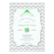 NEUTRAL St Patrick's Day Baby Shower Invites