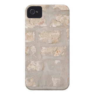 Neutral Tones Customizable Brick Wall Pattern iPhone 4 Covers