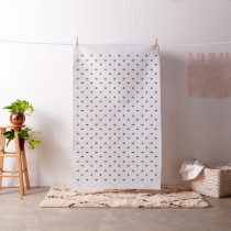 Neutral tribal pattern -  linen and charcoal fabric